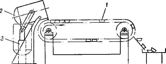 Схема разливки магния '