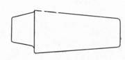 Смещенная головная часть слитка (схема)