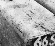 Краевая продольная трещина в стальном слитке (доходит до облоя)