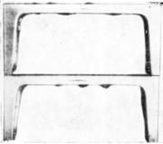 Швеллер с дефектными участками, обусловленными раковинами