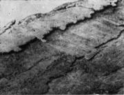 Сильные заливания (наплывы) на ребрах слитка