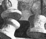 Язвины от окалины, выявленные после пескоструйной обработки