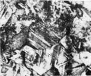 Крупное зерно, образовавшееся в стали, ковка которой была закончена при слишком