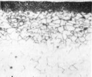 Микроструктура кислотостойкого слоя