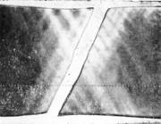 Фигуры текучести на разрушенном образце