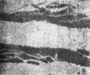 Остатки эмульсии на поверхности