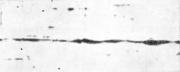 Неметаллические включения (строчки шлаковых частиц) в стальной полосе