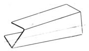 Скручивание U-образного профиля (схема)