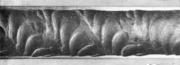 Отпечатки на внутренней поверхности трубной заготовки из высоколегированной стал