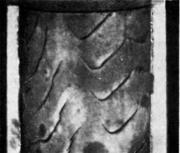 Поврежденная внутренняя поверхность после обкатки