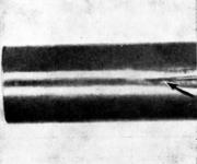 Закат на трубе, полученной пилигримовой прокаткой