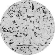 Микроструктура конструкционной стали:   перлит, феррит