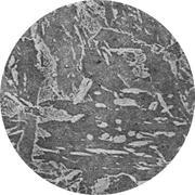 Микроструктура конструкционной стали: феррит, перлит, цементит