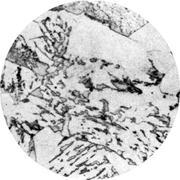 Микроструктура стали 15ХМ: феррит, перлит, бейнит, мартенсит