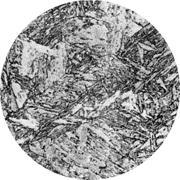 Микроструктура стали 0Н9А: мартенсит